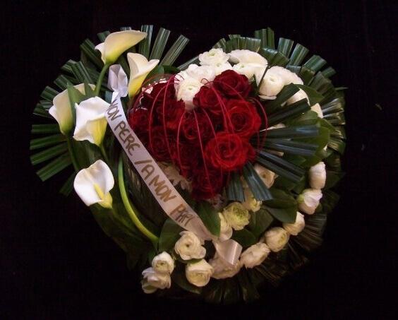 bouquet pour un dernier hommage